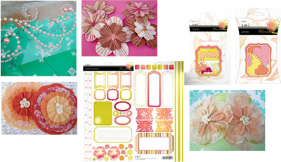 April 2 embellishments