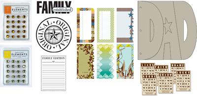 June kit 1 embellishments