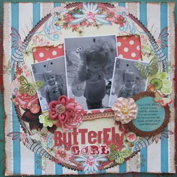 Lindsay Butterfly Girl