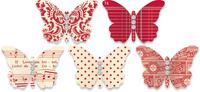 JB butterfly red