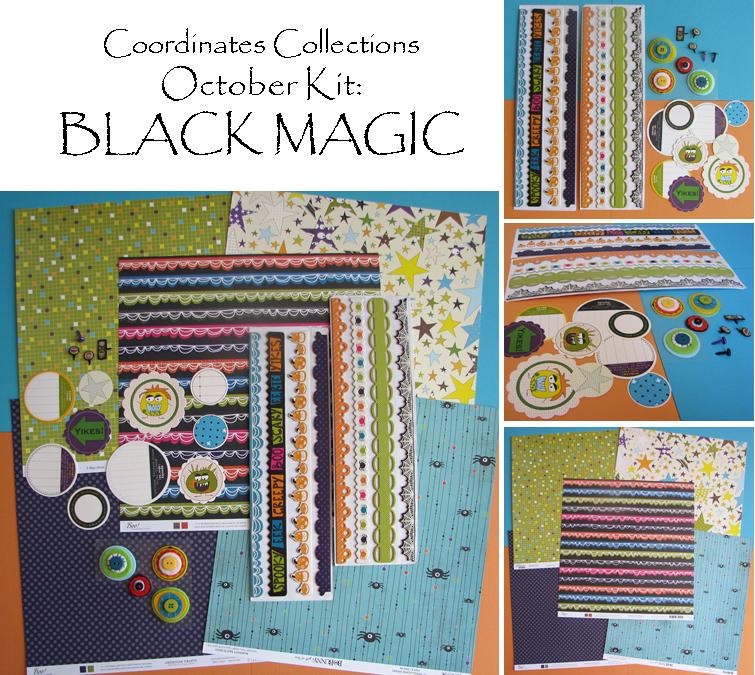 October Black Magic Kit Collage
