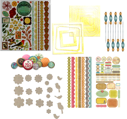 Dec kit 1 embellishment addons
