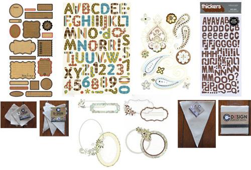 June kit 1 embellishment addons
