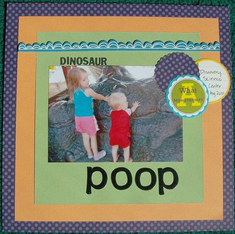 Dinosaur Poop
