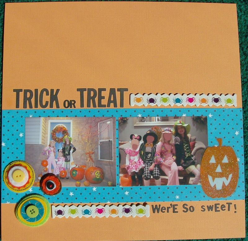 Trick or Treat pg 1 blurred