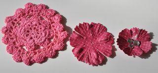 CC november tutorial pink flowers