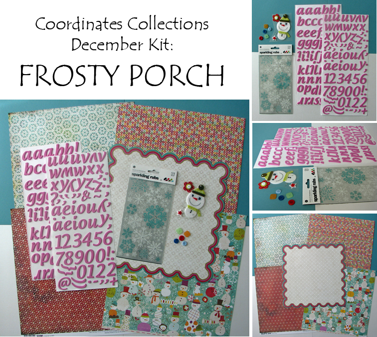 Frosty Porch collage