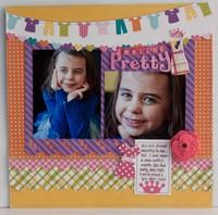Little Girl Keppel Feeling PRetty