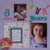 Little Girl Keppel 3 short years