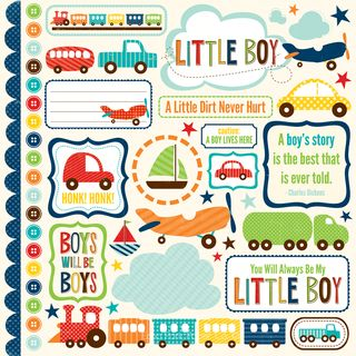 Little Boy Elements Stickers