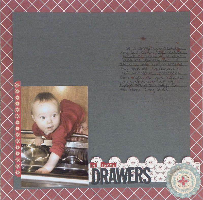 January - drawers