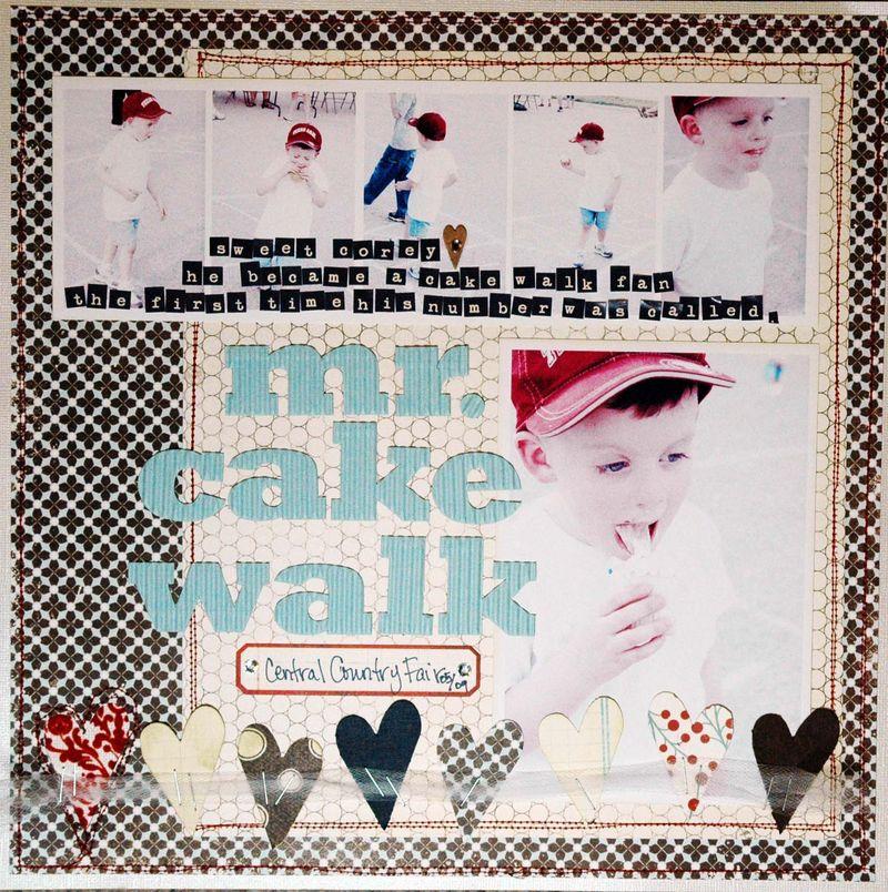 Mr cake walk