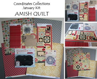 Amish Quilt collage