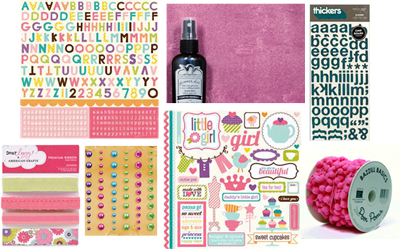March kit 1 embellishment addons