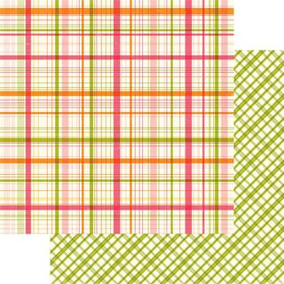 Little Girl Madison Plaid
