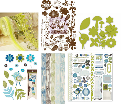 April kit 1 embellishment addons