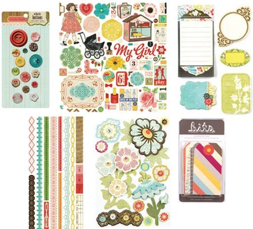 April kit 2 embellishment addons