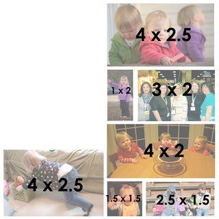 Pcc p3 sizes