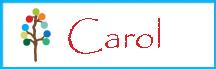 Carol blog footer